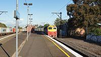 N454 passing Middle Footscray