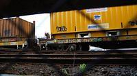 PN Steel derailed at Nth Melb