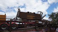 Trucks remove load