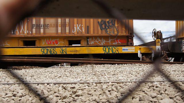 Destroyed rails