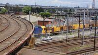 Steel train still running