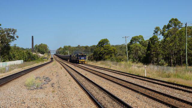 Coal passing Metford Station