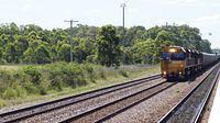 92 Class passing Metford Station