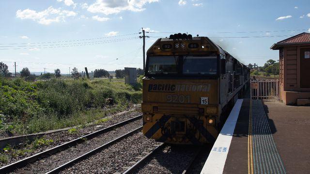 9201 on coal at Maitland