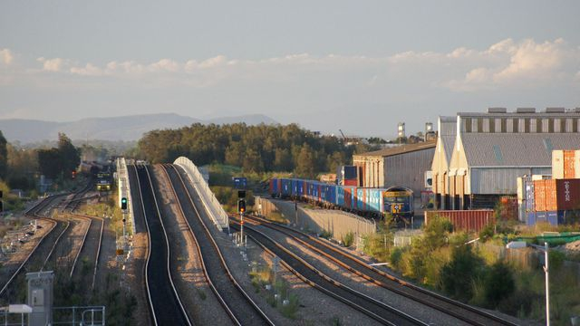 GL on freight at Sandgate