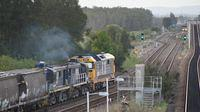 81 and 48s passing Sandgate