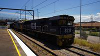 82 on coal passing Broadmeadow Station