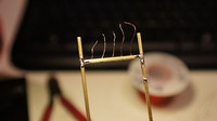 Soldering without melting wires