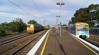G527 and Siemens at Middle Footscray