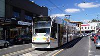 Tram #5013 on Acland St