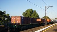Freight passes Middle Footscray