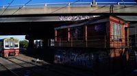 Sprinter passing West Footscray