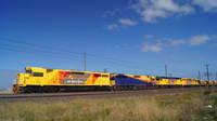 QR Grain train at McIntyre Loop