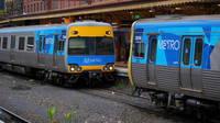 ComEng coupling up at Flinders St