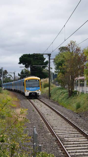 Siemens arriving at Berwick