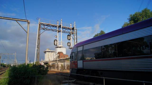 V/Locity passing South Kensington