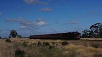 Steamrail performing the second shuttle for the day