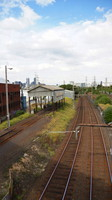Kensington looking towards Melbourne