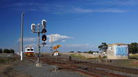 EM100 heading to signal to return to Ballarat