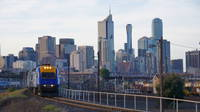 XPT departing Melbourne
