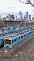 Metro Stock at North Melbourne