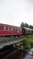 Star Museum train approaching Veendam