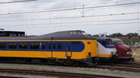 NS EMUs at Amersfoort