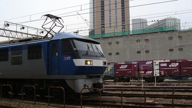 EF210-4 heading towards Nishikujo