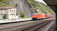DB185 passing St Goarshausen
