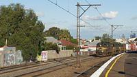 A79+X37+P22 on BG passing Middle Footscray